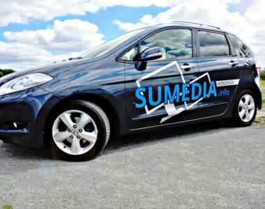 Fahrzeugbeschriftung von Kreative Werbung