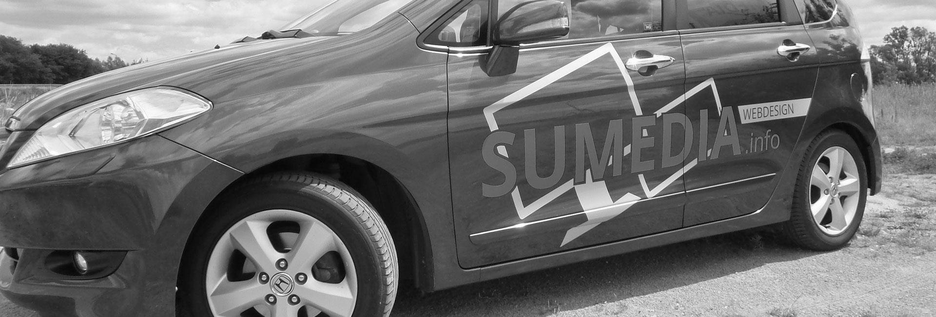 Fahrzeugbeschriftung aus Falkensee