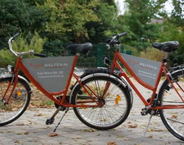 Fahrradwerbung als Sonderlösung von Kreative Werbung Falkensee