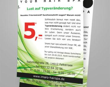 Flyer Erstellung von Kreative Werbung