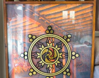 Sonderlösung Lichtkasten mit Vergoldung Folierendruck Dekoration aus Falkensee
