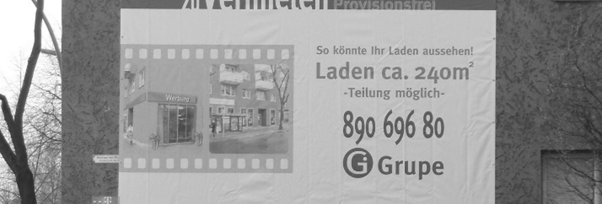 Werbeplanen von Kreative Werbung aus Falkensee